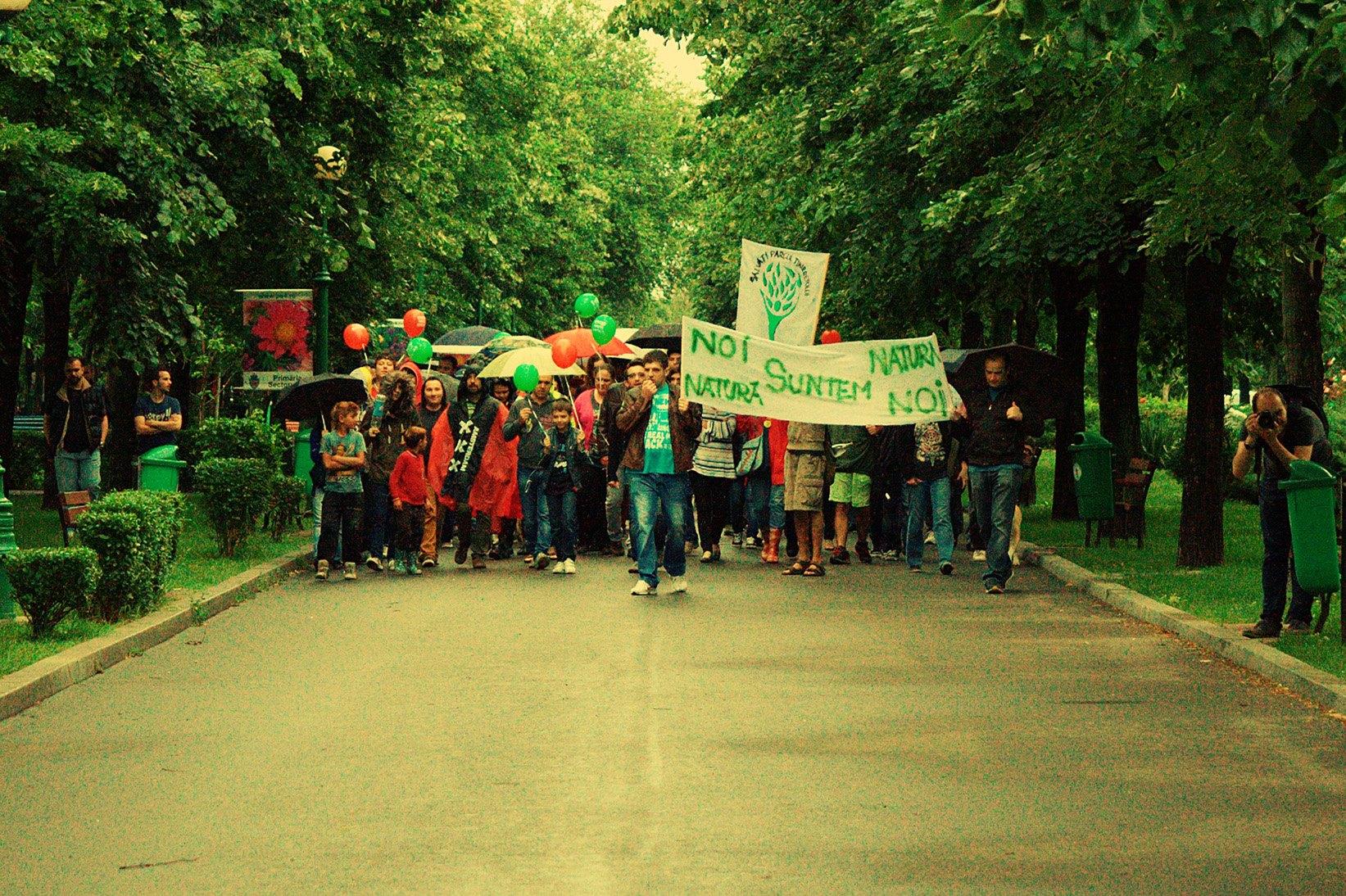 foto: Pagina de Facebook Salvati Parcul Tineretului